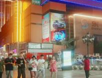 石家庄银座商城北墙楼体大牌广告新一轮招商期正式开启