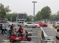 邢台中兴大街核心商圈落地LED大屏广告招商