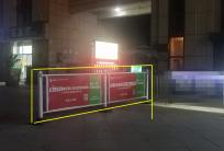 社区电梯框架广告
