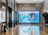 石家庄写字楼电梯间灯箱广告