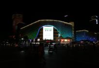 石家庄新百广场LED大屏广告